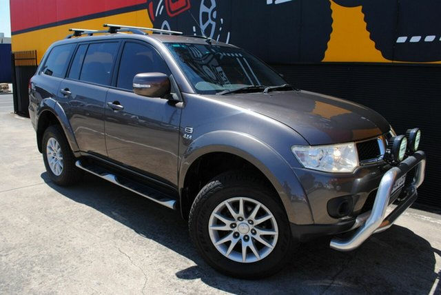 Used Mitsubishi Challenger PB (KH) MY12 LS, 2012 Mitsubishi Challenger PB (KH) MY12 LS Granite Quartz 5 Speed Sports Automatic Wagon