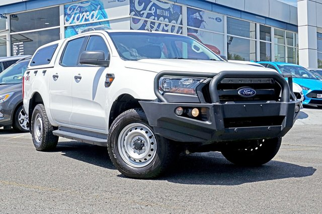 Used Ford Ranger PX MkII XL Double Cab Plus, 2017 Ford Ranger PX MkII XL Double Cab Plus White 6 Speed Sports Automatic Utility