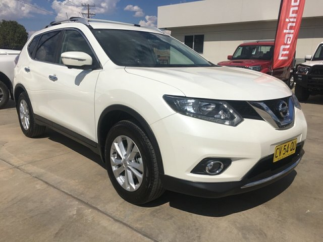Used Nissan X-Trail T32 ST-L X-tronic 2WD, 2016 Nissan X-Trail T32 ST-L X-tronic 2WD White 7 Speed Constant Variable Wagon