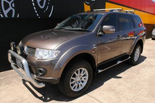 2012 Mitsubishi Challenger PB (KH) MY12 LS Granite Quartz 5 Speed Sports Automatic Wagon
