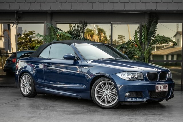 Used BMW 120i E88 120i, 2008 BMW 120i E88 120i Blue 6 Speed Automatic Convertible