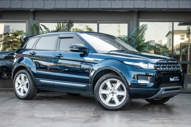 Used Land Rover Range Rover Evoque L538 MY12 SD4 CommandShift Pure, 2011 Land Rover Range Rover Evoque L538 MY12 SD4 CommandShift Pure Blue 6 Speed Sports Automatic
