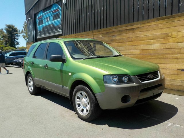 Used Ford Territory SX TX, 2004 Ford Territory SX TX Green 4 Speed Sports Automatic Wagon