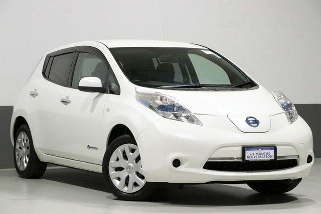Used Nissan Leaf ZE0 , 2013 Nissan Leaf ZE0 White 1 Speed Automatic Hatchback