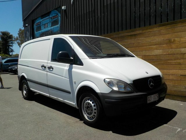 Used Mercedes-Benz Vito 639 MY10 109CDI Low Roof Comp, 2010 Mercedes-Benz Vito 639 MY10 109CDI Low Roof Comp White 6 Speed Manual Van