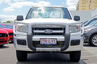 2009 Ford Ranger PK XL Super Cab 4x2 Hi-Rider White 5 Speed Manual Cab Chassis.