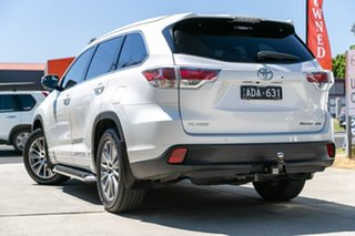 2014 Toyota Kluger GSU55R Grande AWD White 6 Speed Sports Automatic Wagon.