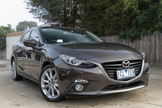 2014 Mazda 3 BM5238 SP25 SKYACTIV-Drive GT Bronze 6 Speed Sports Automatic Sedan.