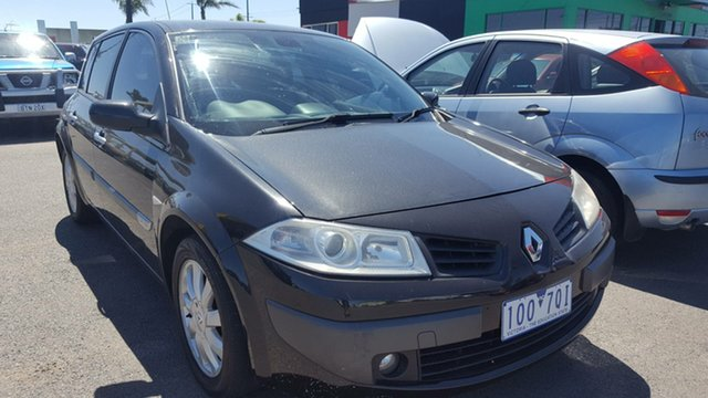 Used Renault Megane II B84 Dynamique, 2006 Renault Megane II B84 Dynamique Black 4 Speed Sports Automatic Hatchback