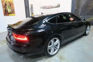 2013 Audi S7 4G MY13 Sportback S Tronic Quattro Black 7 Speed Sports Automatic Dual Clutch Hatchback