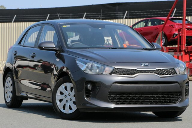 Used Kia Rio YB MY18 S, 2018 Kia Rio YB MY18 S Grey 4 Speed Sports Automatic Hatchback