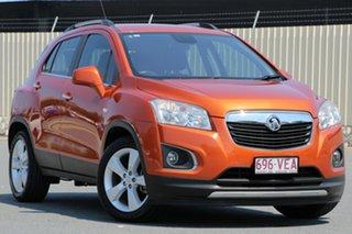 2014 Holden Trax TJ MY14 LTZ Orange 6 Speed Automatic Wagon.