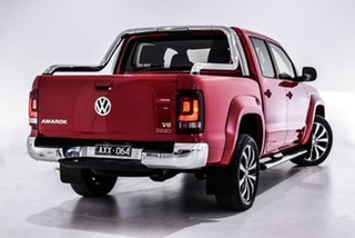 2019 Volkswagen Amarok 2H MY19 TDI580 4MOTION Perm Ultimate Red 8 Speed Automatic Utility.