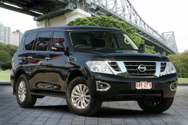Demo Nissan Patrol Y62 Series 4 TI-L, 2019 Nissan Patrol Y62 Series 4 TI-L Kh3 7 Speed Sports Automatic Wagon