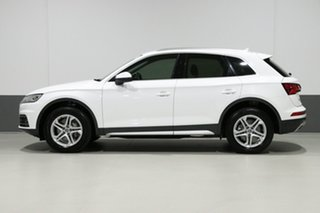2018 Audi Q5 FY MY18 2.0 TDI Quattro Design White 7 Speed Auto S-Tronic Wagon