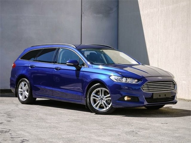 Used Ford Mondeo MD Ambiente, 2015 Ford Mondeo MD Ambiente Blue 6 Speed Sports Automatic Dual Clutch Wagon