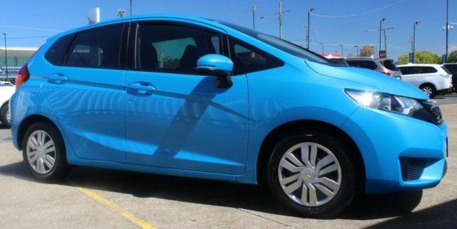 Used Honda Jazz GF MY16 VTi, 2016 Honda Jazz GF MY16 VTi Blue 5 Speed Manual Hatchback