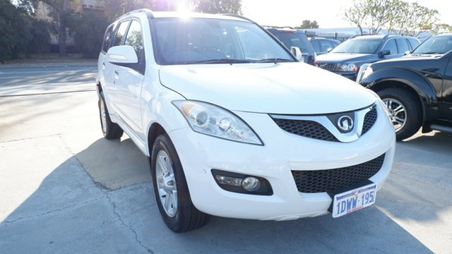 Used Great Wall X240 CC6461KY MY12 , 2012 Great Wall X240 CC6461KY MY12 White 5 Speed Manual Wagon