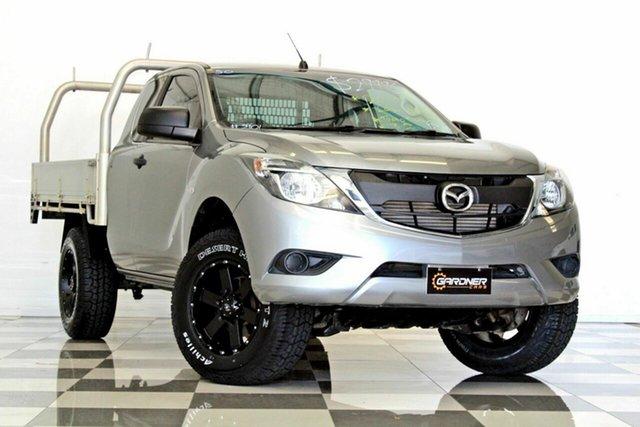 Used Mazda BT-50 MY16 XT Hi-Rider (4x2), 2016 Mazda BT-50 MY16 XT Hi-Rider (4x2) Silver 6 Speed Manual Freestyle Cab Chassis
