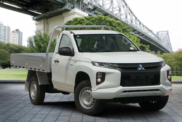Used Mitsubishi Triton MR MY19 GLX, 2018 Mitsubishi Triton MR MY19 GLX White 5 Speed Manual Cab Chassis