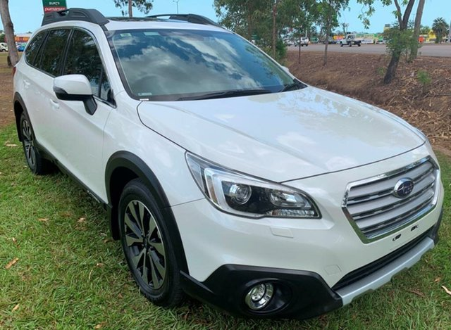 Used Subaru Outback B6A MY16 2.5i CVT AWD Premium, 2016 Subaru Outback B6A MY16 2.5i CVT AWD Premium White 6 Speed Constant Variable Wagon