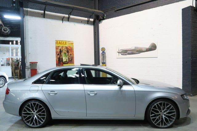 Used Audi A4 B8 8K MY13 S Tronic Quattro, 2012 Audi A4 B8 8K MY13 S Tronic Quattro Silver 7 Speed Sports Automatic Dual Clutch Sedan