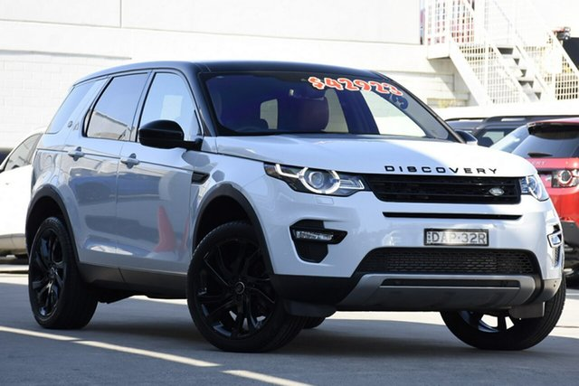 Used Land Rover Discovery Sport L550 16.5MY Td4 HSE, 2015 Land Rover Discovery Sport L550 16.5MY Td4 HSE Yulong White 9 Speed Sports Automatic Wagon