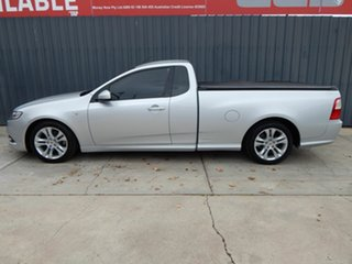 2008 Ford Falcon FG XR6 Ute Super Cab Silver 5 Speed Sports Automatic Utility.