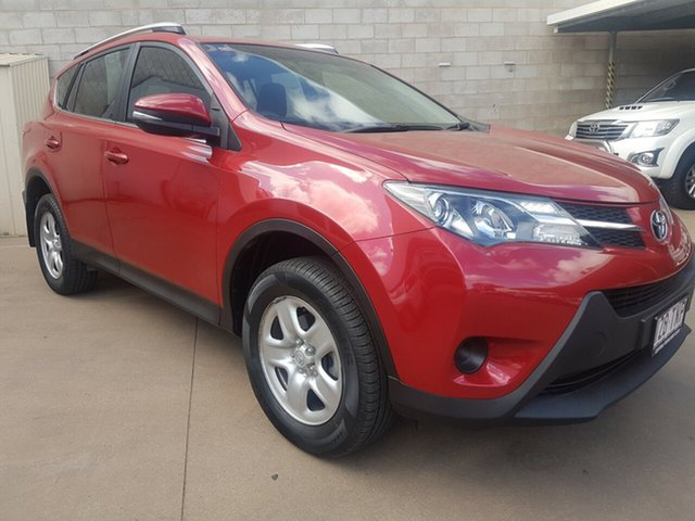 Used Toyota RAV4 ZSA42R GX (2WD), 2013 Toyota RAV4 ZSA42R GX (2WD) Red Continuous Variable Wagon