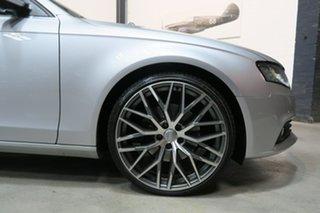 2012 Audi A4 B8 8K MY13 S Tronic Quattro Silver 7 Speed Sports Automatic Dual Clutch Sedan.