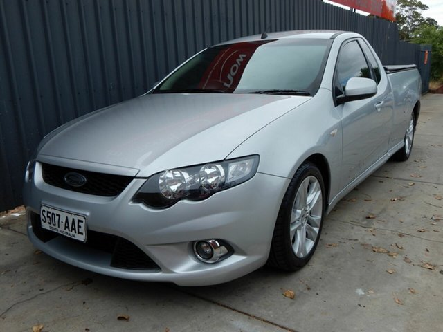 Used Ford Falcon FG XR6 Ute Super Cab, 2008 Ford Falcon FG XR6 Ute Super Cab Silver 5 Speed Sports Automatic Utility