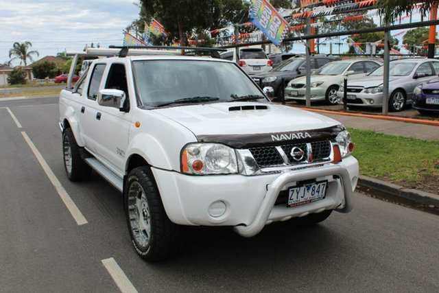 Used Nissan Navara D22 Series 5 ST-R (4x4), 2013 Nissan Navara D22 Series 5 ST-R (4x4) White 5 Speed Manual Dual Cab Pick-up