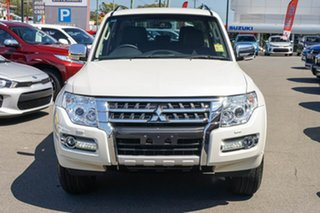 2019 Mitsubishi Pajero NX MY20 GLS White 5 Speed Sports Automatic Wagon.