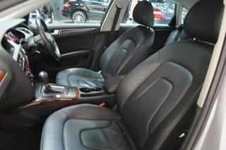 2012 Audi A4 B8 8K MY13 S Tronic Quattro Silver 7 Speed Sports Automatic Dual Clutch Sedan
