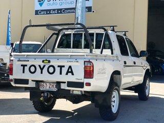 2004 Toyota Hilux LN167R MY04 White 5 Speed Manual Utility.