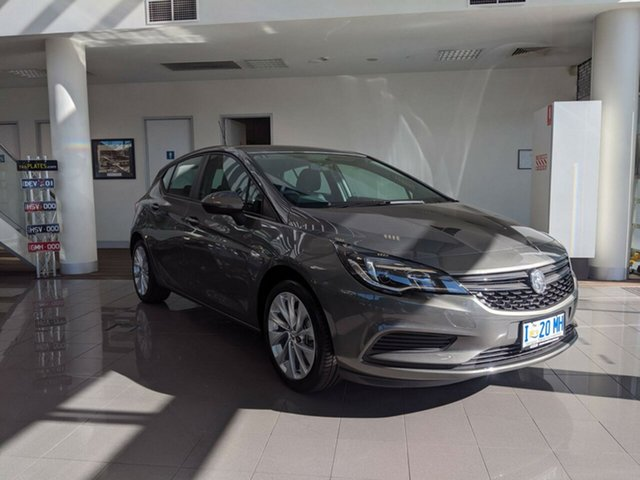 Demo Holden Astra BK MY19 R, 2019 Holden Astra BK MY19 R Cosmic Grey 6 Speed Sports Automatic Hatchback