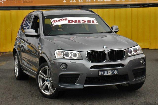 Used BMW X3 F25 MY1112 xDrive20d Steptronic, 2013 BMW X3 F25 MY1112 xDrive20d Steptronic Grey 8 Speed Automatic Wagon