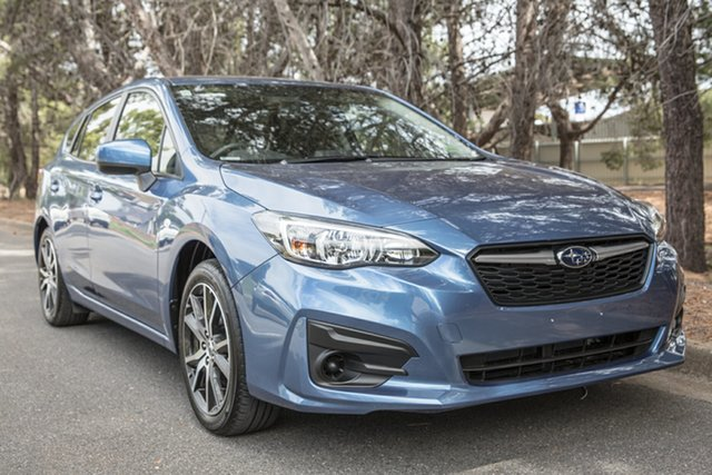 Demo Subaru Impreza G5 MY19 2.0i CVT AWD, 2019 Subaru Impreza G5 MY19 2.0i CVT AWD Quartz Blue 7 Speed Constant Variable Hatchback