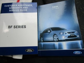 2006 Ford Falcon BF SR 4 Speed Auto Seq Sportshift Sedan