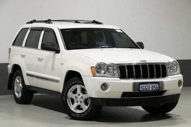 Used Jeep Grand Cherokee WH Limited (4x4), 2005 Jeep Grand Cherokee WH Limited (4x4) White 5 Speed Automatic Wagon