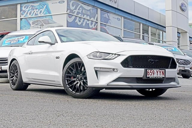 Used Ford Mustang FN 2019MY GT Fastback SelectShift RWD, 2019 Ford Mustang FN 2019MY GT Fastback SelectShift RWD White 10 Speed Sports Automatic Fastback