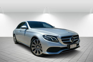 2016 Mercedes-Benz E-Class W213 E220 d 9G-Tronic PLUS Silver 9 Speed Sports Automatic Sedan.