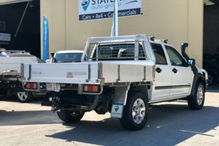 2008 Holden Rodeo RA MY08 LT Crew Cab White 5 Speed Manual Utility.