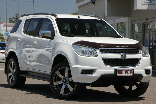 Used Holden Colorado 7 RG MY14 LTZ, 2014 Holden Colorado 7 RG MY14 LTZ White 6 Speed Sports Automatic Wagon