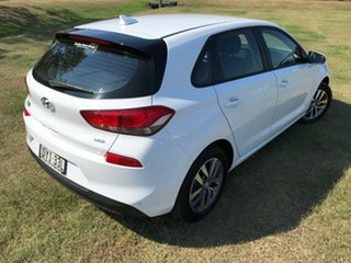 2018 Hyundai i30 PD MY18 Active D-CT Polar White 7 Speed Sports Automatic Dual Clutch Hatchback