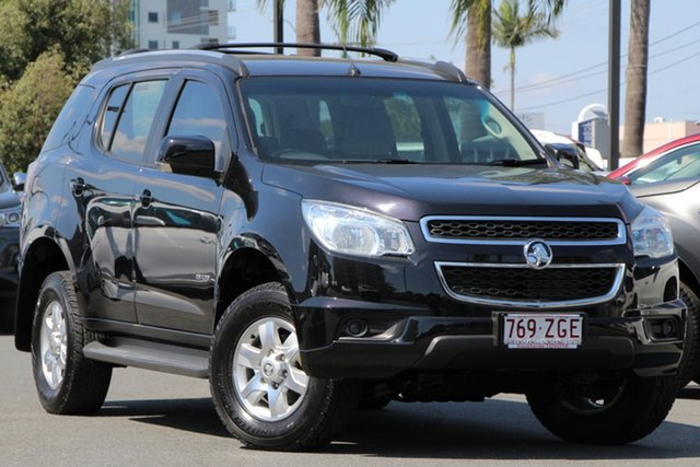 Used Holden Colorado 7 RG MY14 LT, 2014 Holden Colorado 7 RG MY14 LT Black/Grey 6 Speed Sports Automatic Wagon