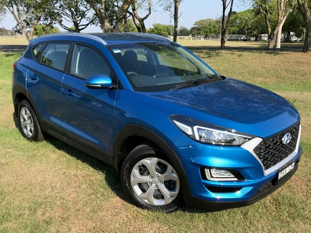 Used Hyundai Tucson TL3 MY19 Go AWD, 2018 Hyundai Tucson TL3 MY19 Go AWD Aqua Blue 8 Speed Sports Automatic Wagon