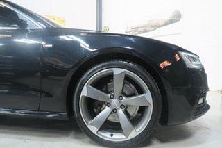 2014 Audi A5 8T MY15 Sportback S Tronic Quattro Black 7 Speed Sports Automatic Dual Clutch Hatchback.