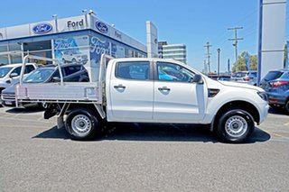2014 Ford Ranger PX XL Double Cab 4x2 Hi-Rider White 6 Speed Sports Automatic Cab Chassis