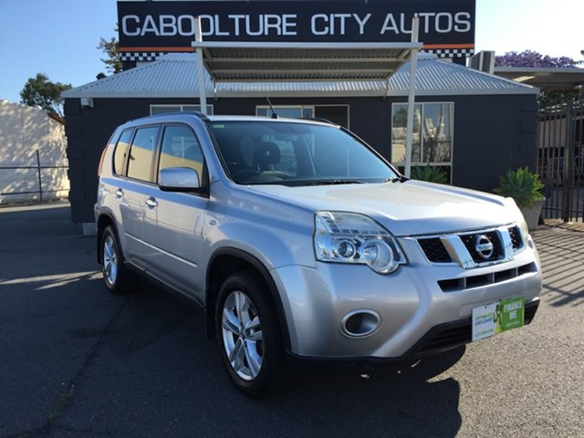 Used Nissan X-Trail T31 MY11 ST (FWD), 2011 Nissan X-Trail T31 MY11 ST (FWD) Silver Continuous Variable Wagon